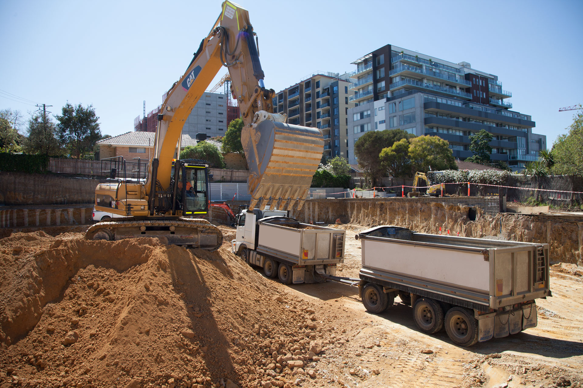 home altere melbourne earth movers concrete excavation industrial residential